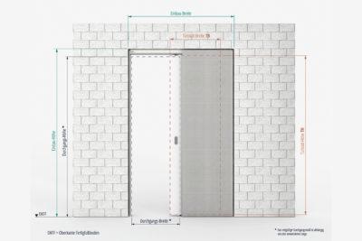 CAVIS Mauerwerk Holz Maße